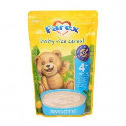 Farex 婴幼儿 米粉米糊 无糖 低敏 高铁 原味 4月+125g