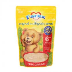 Farex  婴幼儿多种谷物 米粉米糊 无糖 低敏 原味 高铁 6个月+125g