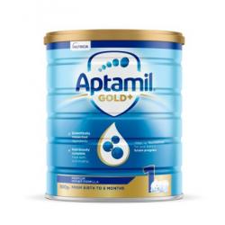Aptamil Gold+ Stage 1 Starter 爱他美 金装1段900克(0-6个月)6罐包邮 07/21