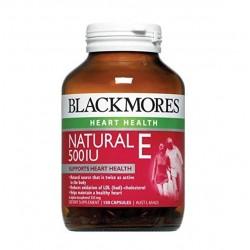Blackmores Natural E 500IU BM澳佳宝天然维生素E 维E胶囊 150粒  11/22
