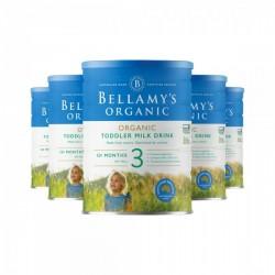 Bellamy's 贝拉米婴儿有机奶粉3段*6罐 适合1岁以上宝宝 6罐包邮包税 4/21