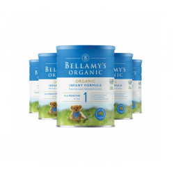 Bellamy's 贝拉米婴儿有机奶粉1段*6罐 适合0-6个月宝宝 6罐包邮 05/21