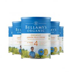 Bellamy's 贝拉米婴儿有机奶粉4段*6罐 适合3岁以上宝宝 10/21