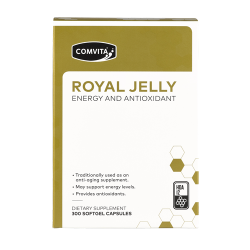 Comvita ROYAL JELLY 300CAP 康维他 蜂王浆胶囊 美白 增抵抗力 抗疲劳 HDA12 300粒  03/20