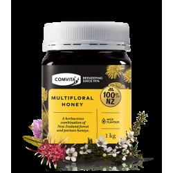 Comvita multiflora honey 康维他南岛野地蜂蜜1kg 保质期02/22