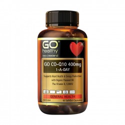 Go Healthy go co-q 400mg 60caps 高之源 高含量 辅酶Q10 400毫克 60粒    06/23