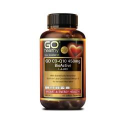 Go Healthy go co-q 450mg 60caps 高之源 高含量 辅酶Q10 450毫克 60粒 02/23