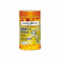 Healthy Care Goat's Milk 山羊奶咀嚼片 香草味 300粒 12/21