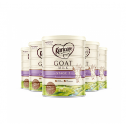 Karicare Goats Milk Step 2 Infant Formula 可瑞康 羊奶粉(6个月-12个月)900克 2段 6罐包邮 03/23