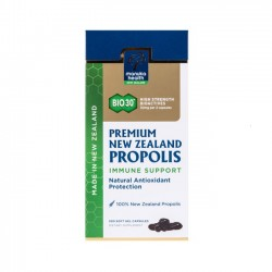 Manuka Health PREMIUM NZ PROPOLIS 蜜纽康 BIO30 黑蜂胶胶囊 500粒 09/22