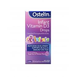 Ostelin Infant Vitamin D3 Drops 婴幼儿维生素D3滴剂2.4ml 保质期 11/21