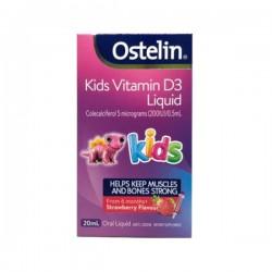 Ostelin Vitamin D Liquid Kids  奥斯特林婴幼儿维生素D VD滴剂 20ml   04/23