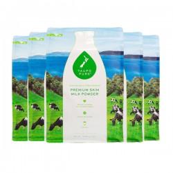 【6包包邮】Taupo Pure 特贝优高钙脱脂奶粉 1kg 最新市场日期