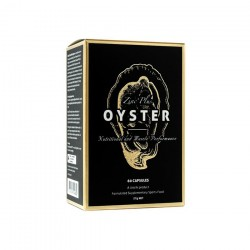 Unichi  Zinc Plus Oyster 纯天然生蚝精金装升级版 60粒/盒 增强男性能力 补锌补肾 02/2022